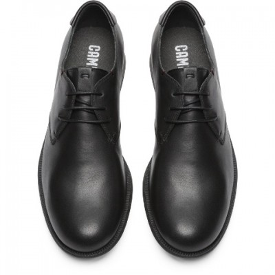 Camper 1913 Classic lace shoe- Black leather