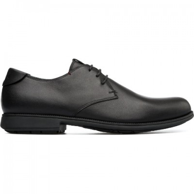 Camper 1913 Lace Shoe - Black Leather