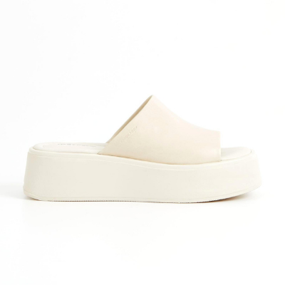 Vagabond Courtney Platform Mule - Off White