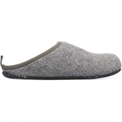 Camper Wabi Slipper - Light Grey Felt