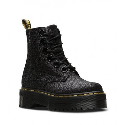 Dr Martens Molly Glitter - black
