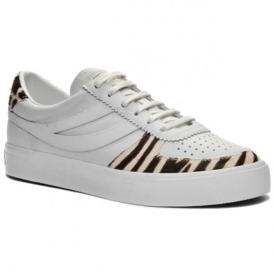 Superga 2846 Seattle - White/Leopard/Zebra