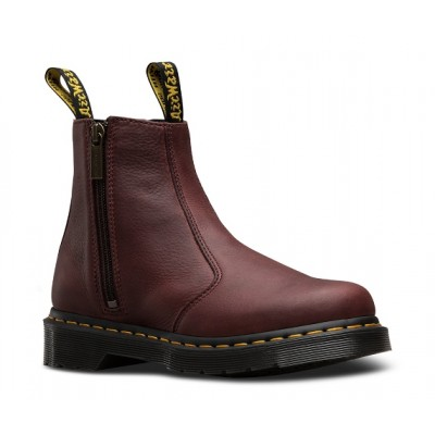 Dr Martens 2976 w/ Zips - Cherry Red