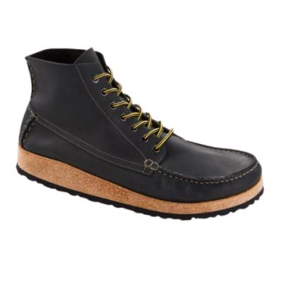 Birkenstock Marton - Oiled Leather (Black)