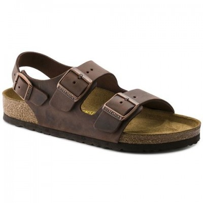 Birkenstock Milano - Waxy Brown leather