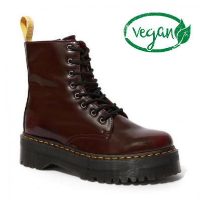 Dr Martens Jadon 2 (Vegan) - Cherry Red