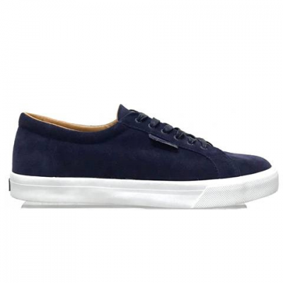 Superga 2804 Suede - Blue Navy