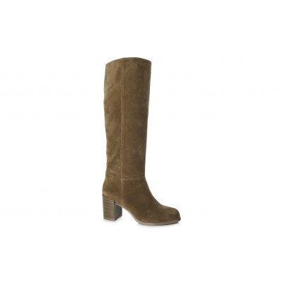 Vagabond Women's Anna Suede Knee High Boot Cinammon / Tan