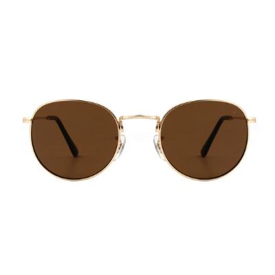 A.Kjaerbede Sunglasses - Hello (Gold/Brown)
