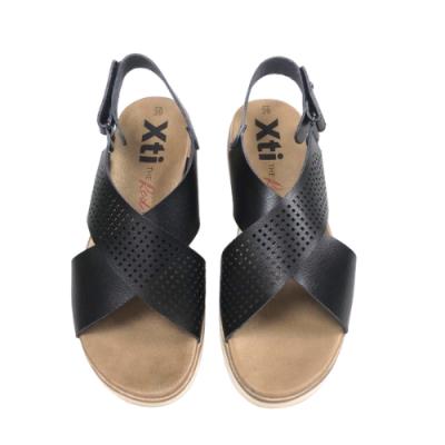 XTI Scorpio Sandals - Black