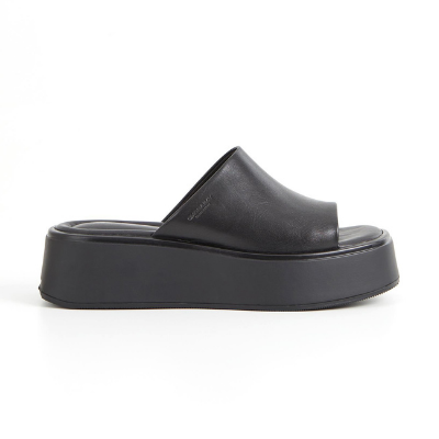 Vagabond Courtney Platform Mule - Black