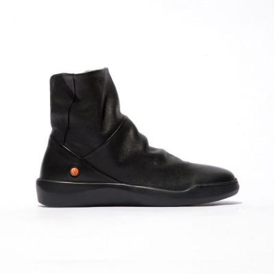 Softinos Bler Ankle Boot - Black