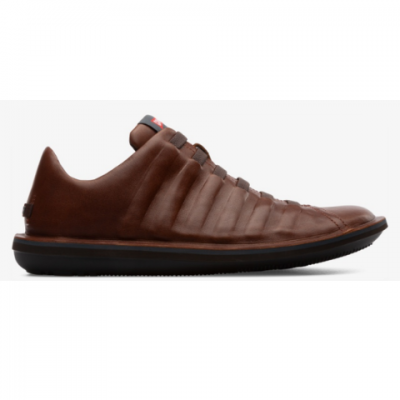 Camper Beetle Shoe - Brown Leather