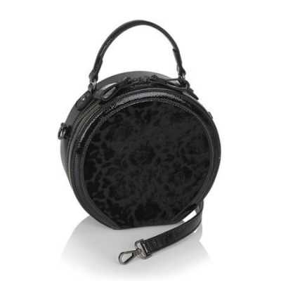 Ruby Shoo Alberta Bag - Black Velvet
