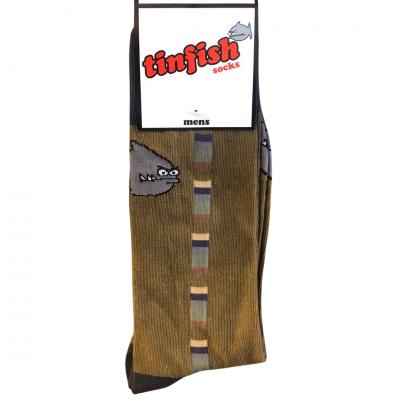 Tinfish Socks Mens - Khaki