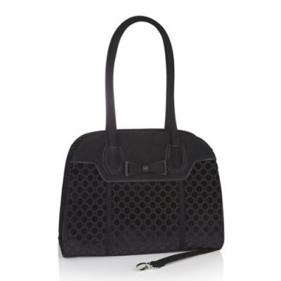 Ruby Shoo Siena Bag - Black Velvet