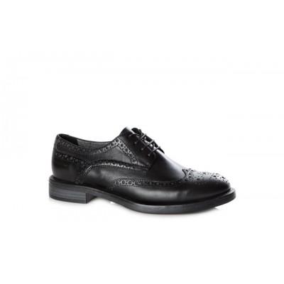 Vagabond Amina Women's Leather Brogue Lace Up Shoe Black