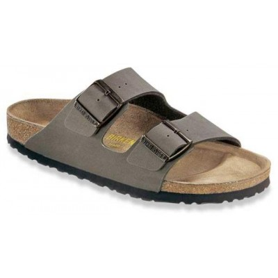 Birkenstock Arizona in Stone Birkoflor (Mens)