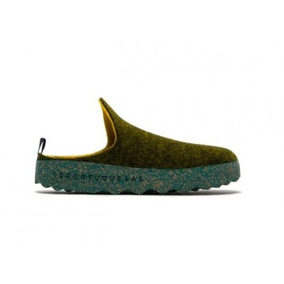 Asportuguesas Come Wool Slipper - Green