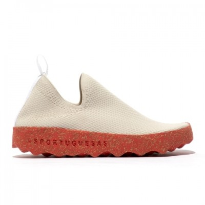 Asportuguesas Care - Light Grey/Red