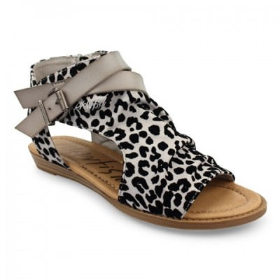 Blowfish Malibu Balla-Grey leopard print