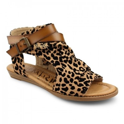 Blowfish Malibu Balla-Tan leopard print