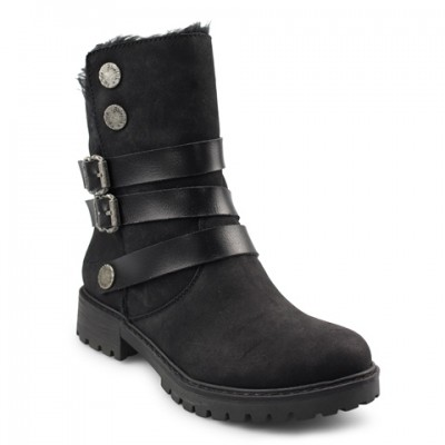 Blowfish Radiki SHR Vegan Boot - Black