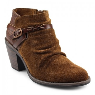 Blowfish Lama Vegan Boot - Brown