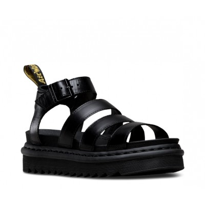 Dr Martens Blaire Sandal - Black leather
