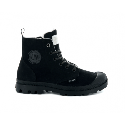 Palladium Ladies Pampa Hi Zip Boot - Black