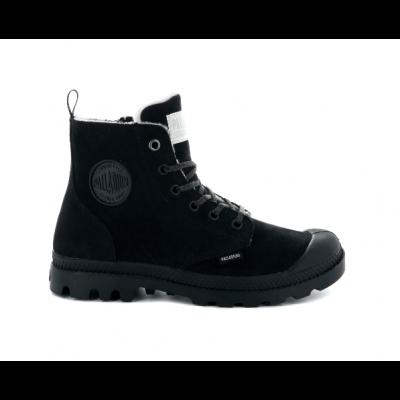 Palladium Ladies Pampa Hi Zip Boot - Black