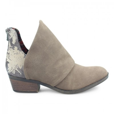 Blowfish Malibu Skirr Ankle Boot - Mushroom Rustic