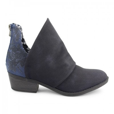 Blowfish Malibu Skirr Ankle Boot - Midnight Rustic