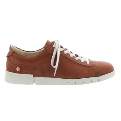 Softinos Men's Cer Trainer in Cognac