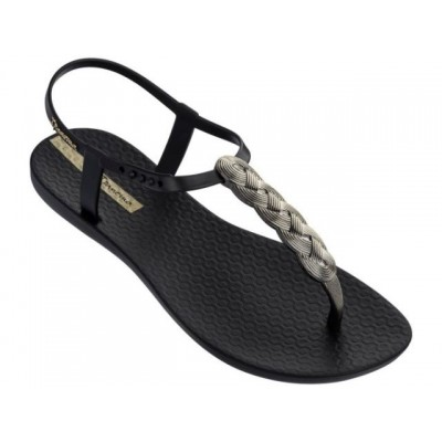 Ipanema Charm Sandal - Black Braid