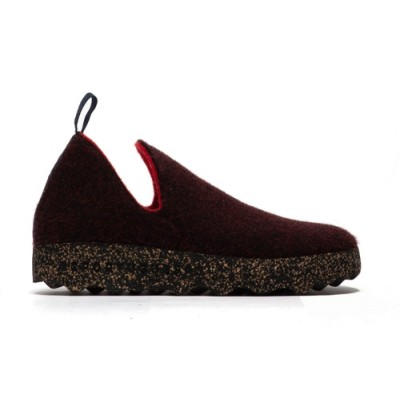 Asportuguesas City Slipper - Merlot