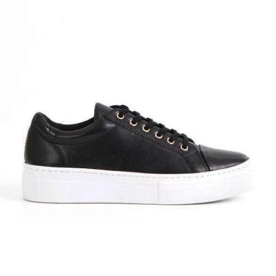 Vagabond Zoe Platform - Black Leather