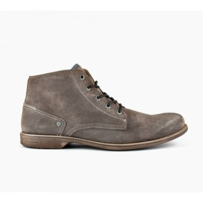 Sneaky Steve Crasher - Taupe Suede