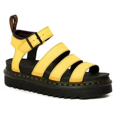 Dr Martens Blaire Sandals - Yellow