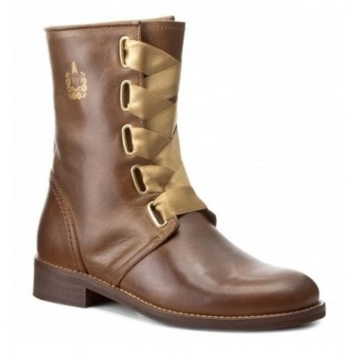 Fly London Dwell Boot - Camel