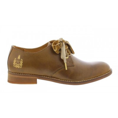 Fly London DWELL Shoe - Camel