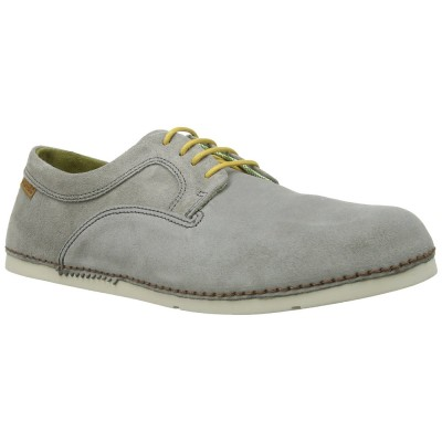 El Natura Lista Men's N706 Grey Suede Yellow Lace Up Cocoi