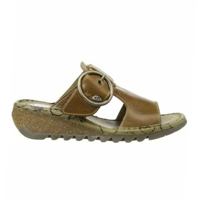 Fly London Tute Sandal - Camel