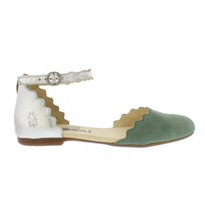 Fly London Megs - Jade/Silver