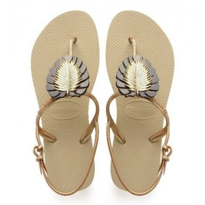 Havaianas Freedom Metal Pin - Gold Leaf