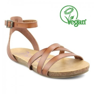 Blowfish Galie Tan Strappy Sandal