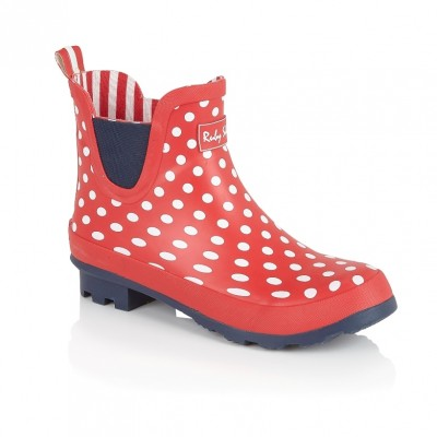 Ruby Shoo Ginny Welly - Red spots