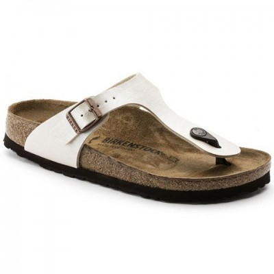 Birkenstock Gizeh Graceful Pearl white