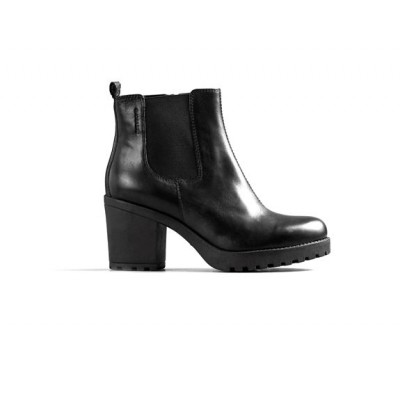 Vagabond Grace Zip Chelsea Boot- Black