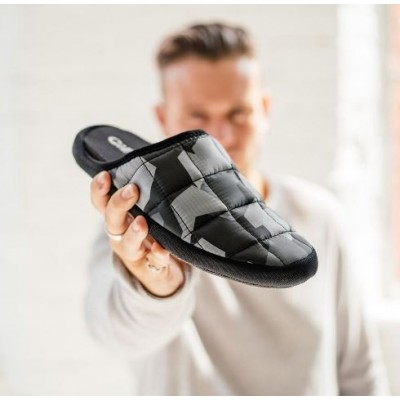 Coma Toes Tokyoes slippers -Grey camo